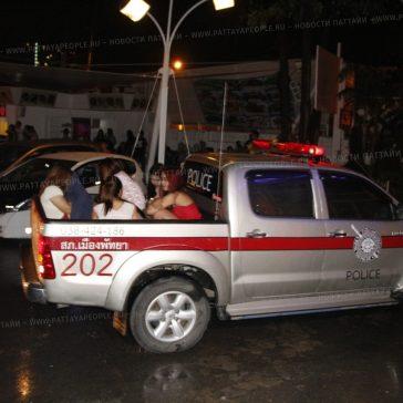 Клуб Паттайи арестован за продажу алкоголя