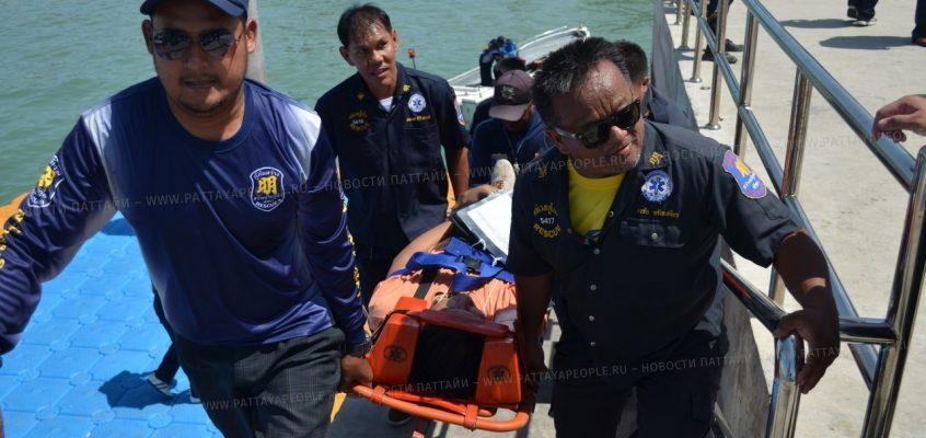 Морские спасательные учения в Паттайе