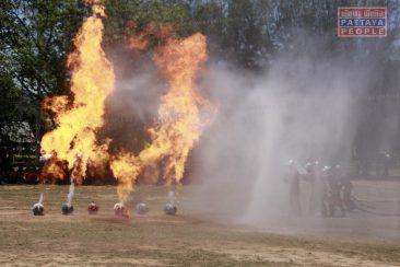 Пожарная тревога в школе в Паттайе