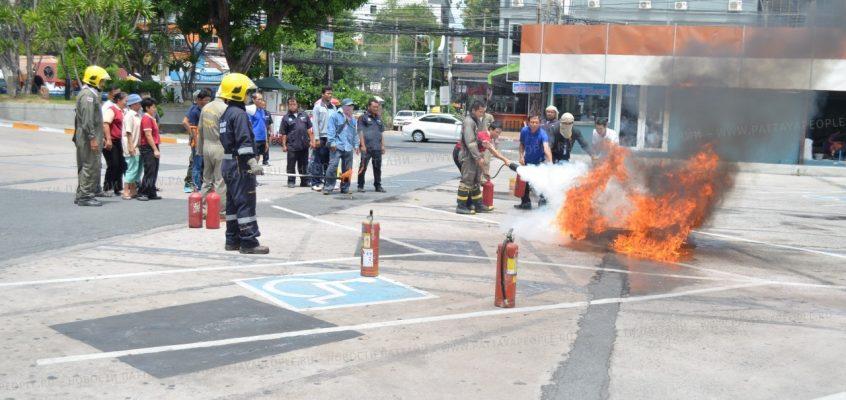 Пожарная тревога в театре «Alcazar» в Паттайе