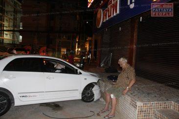 Пожилой австралиец устроил аварию в Паттайе
