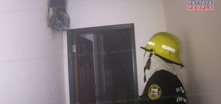 Причиной пожара в Паттайе стало короткое замыкание