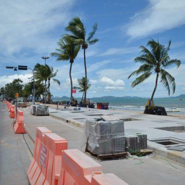 Реконструкция пляжа Джомтьен
