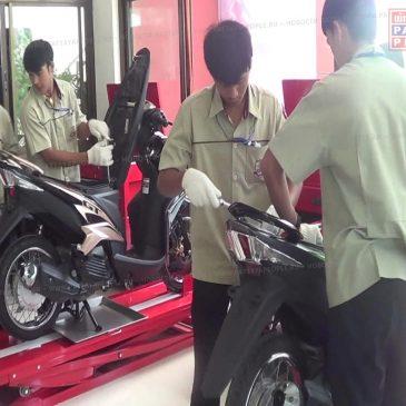 Учебная программа по техобслуживанию мотоциклов от Yamaha Motor