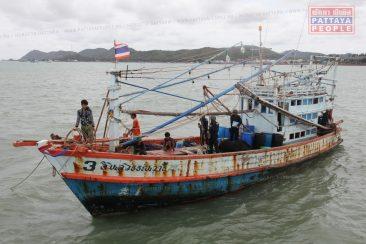 В Паттайе задержано нелегальное рыболовецкое судно