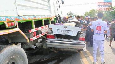 В автомобильной аварии в Паттайе погибла семья