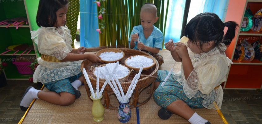 Годовщина школы Потисампан в Паттайе