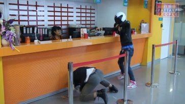 Инсценировка ограбления банка в Паттайе