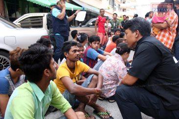 Нелегальные мигранты в Паттайе
