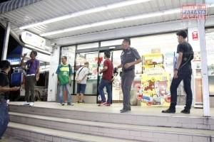 Очередное ограбление магазина 711 в Паттайе