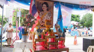 Парад в честь Ее Величества Королевы Таиланда в Паттайе