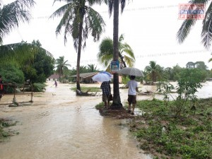 Последствия шторма Vamco (Вамко) в Паттайе