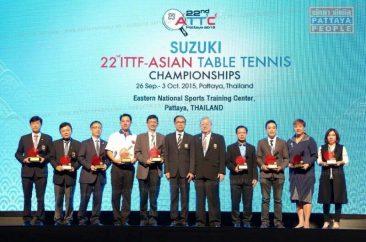 Чемпионат Азии по настольному теннису в Паттайе 2015