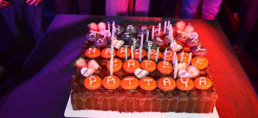 День Рождения Hard Rock Hotel Pattaya