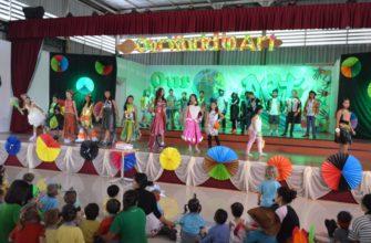 Художественная выставка в школе Tara Pattana в Паттайе