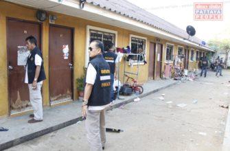 Массовый отлов нелегальных рабочих в Паттайе