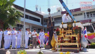 VIDEO: Новая статуя у полицейского участка в Центральной Паттайе