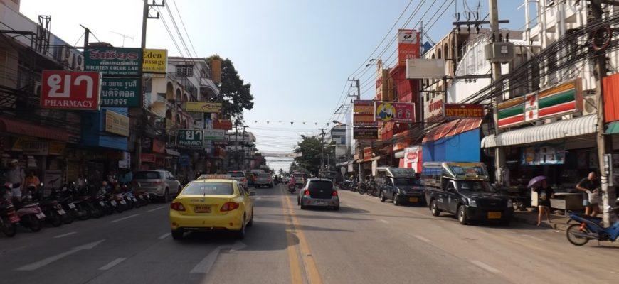 Новые названия улиц Паттайи