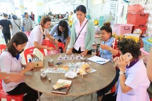 Проверка на вегетарианском фестивале в Паттайе