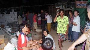 Разборки в строительном лагере в Паттайе