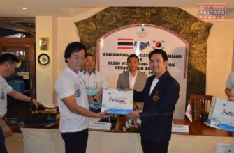 Виндсерферы Кореи и Таиланда объединились в Паттайе