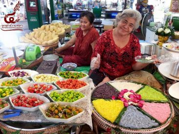 Плавучий рынок в Паттайе приглашает
