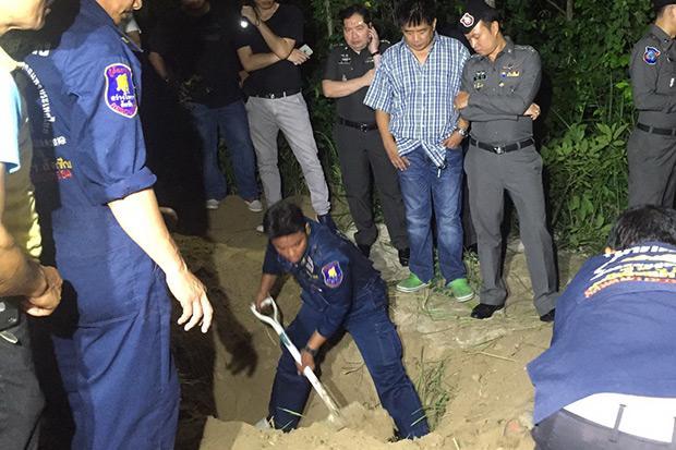 Австралиец, похищенный в Паттайе, найден закопанным в земле