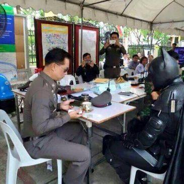 Бэтмен был арестован в Таиланде