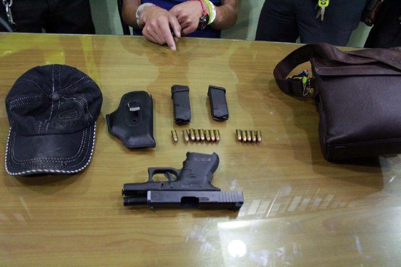 В Паттайе арестован китайский турист с оружием