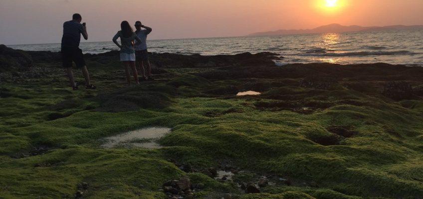 Зеленый пляж в Паттайе