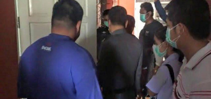 Ночь с трупом в номере отеля Паттайи (видео)