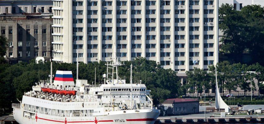 Плавучий госпиталь «Иртыш» отправился в Таиланд на учения