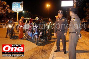 Полицейские проверки на дорогах Паттайи