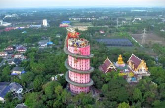 Wat Samphran (Ват Сампхан)— необычный Храм Дракона вТаиланде