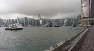 Гонконг штормовое предупреждение