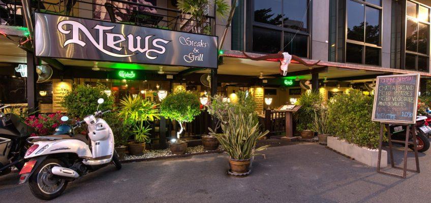 Ресторан стейков News Steaks & Grill в Паттайе