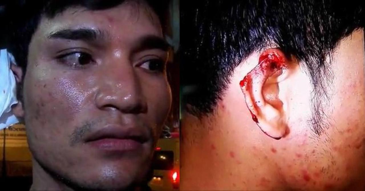 Должнику отрезали ухо в Паттайе