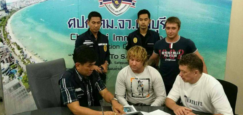 Никита Комиссаров арестован за 2-годичный оверстей в Паттайе