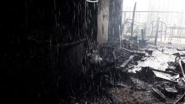 Пожар в Паттайе AD Condominium