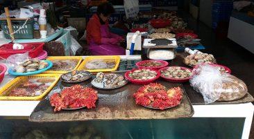 Пусан, Jagalchi Fish Market