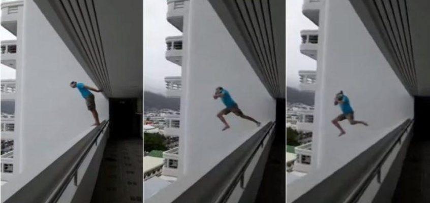 Француз прыгнул с 16 этажа на Пхукете (видео)