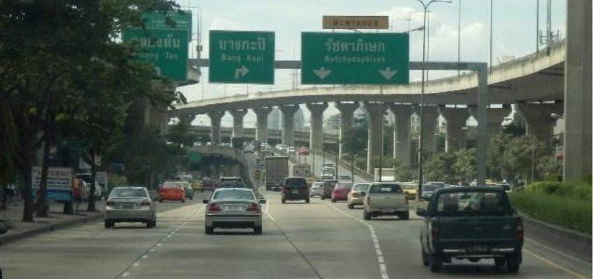 Одна карта для оплаты скоростных дорог Бангкока