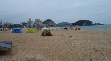Пляж Сонгчхеонг Пусан Южная Корея