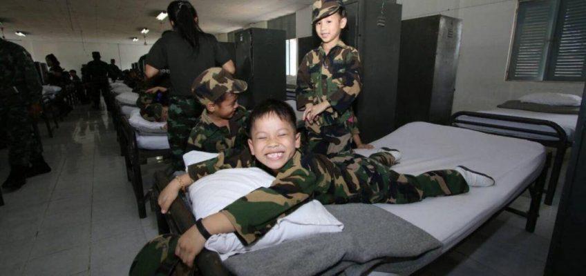 Детские войны в Таиланде (ФОТО)