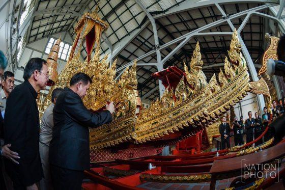 Кремация Короля Таиланда