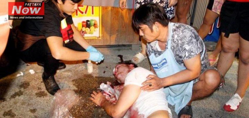 Туриста избили на Волкинг Стрит в Паттайе (видео)