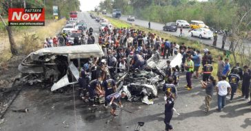 25 человек погибли в Таиланде при столкновении микроавтобуса с грузовиком