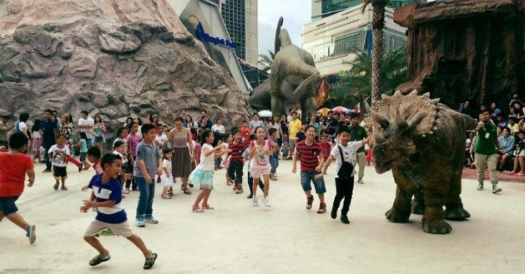 Планета динозавров в Бангкоке