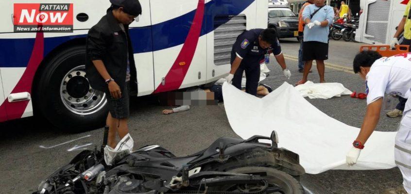 Россиянин Сергей Сугадаев разбился в Паттайе на мотоцикле