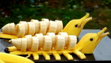 День фруктового карвинга в Таиланде
